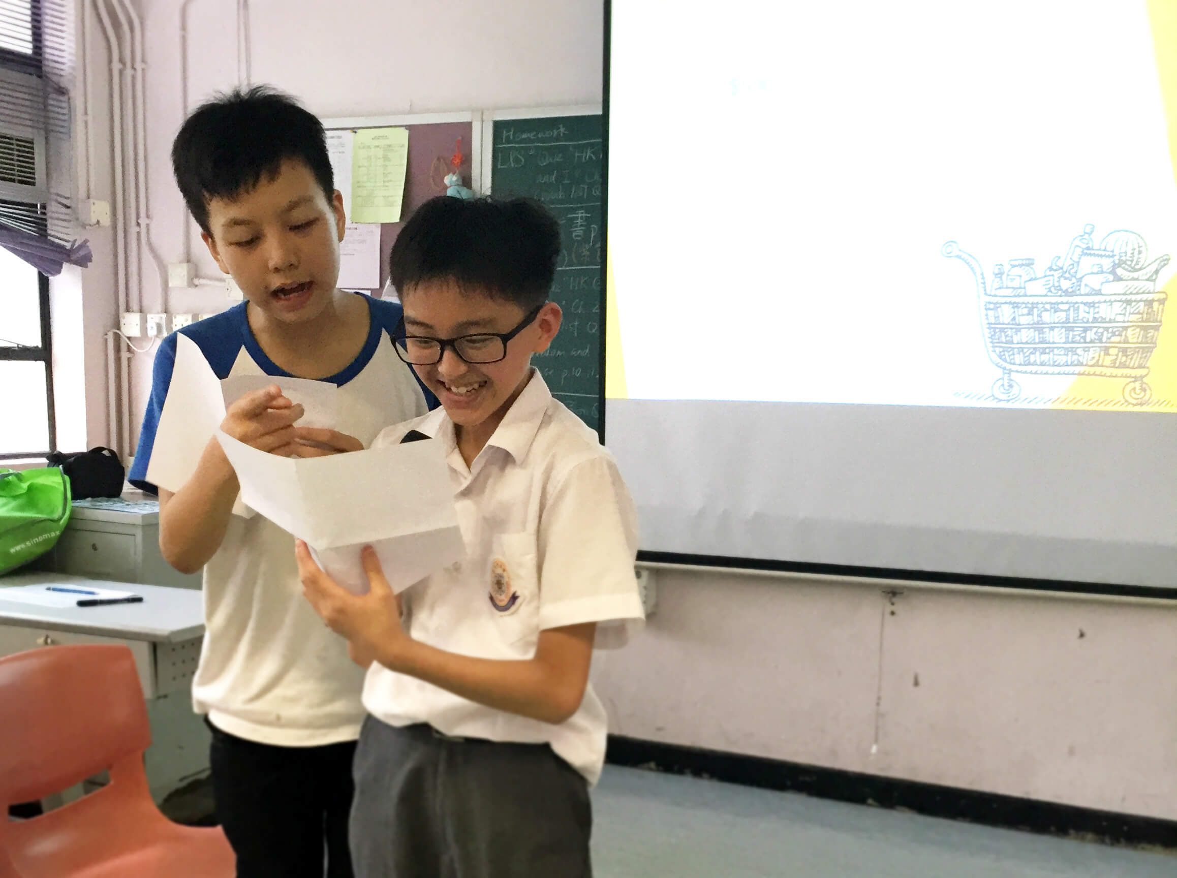 東華三院陳兆民中學工作坊