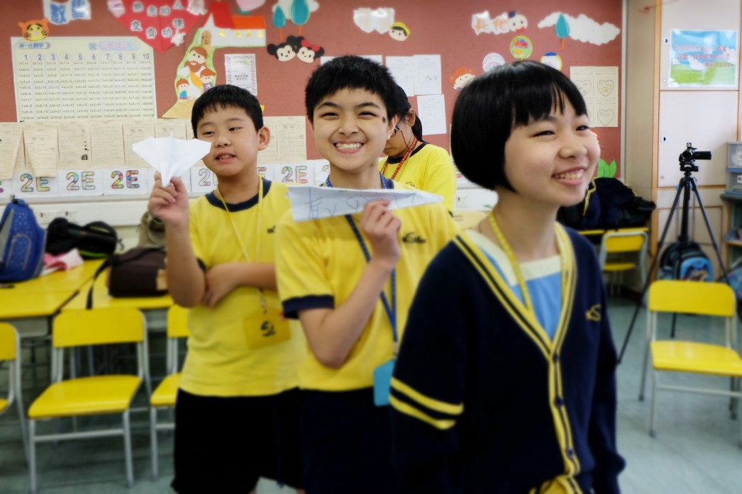 香港輔助會小學工作坊